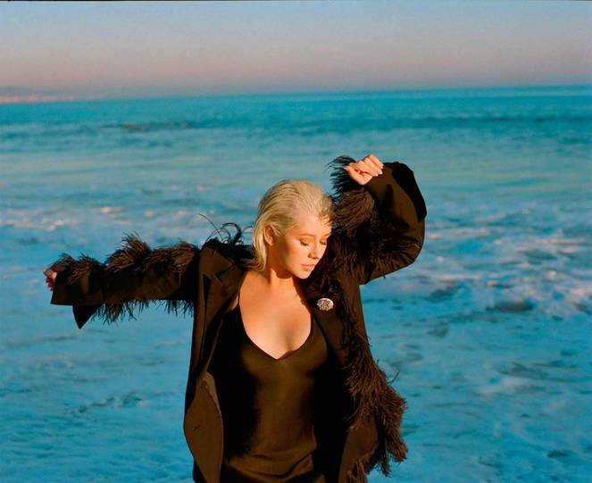 Christina Aguilera Naked Sexy Topless Leaks 55