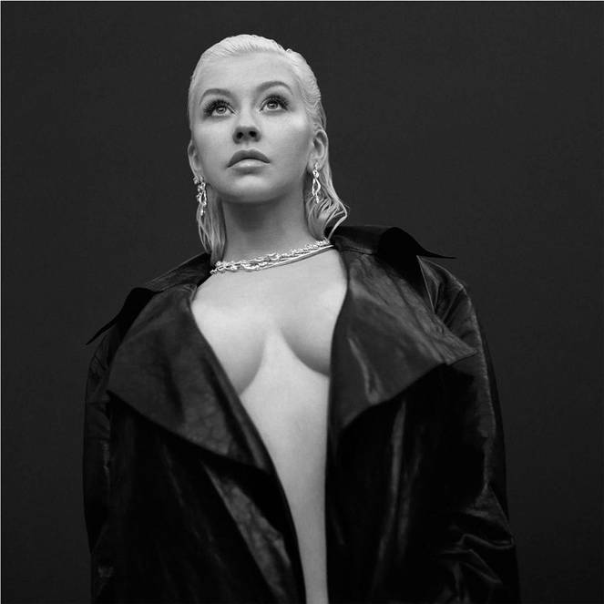 Christina Aguilera Naked Sexy Topless Leaks 59