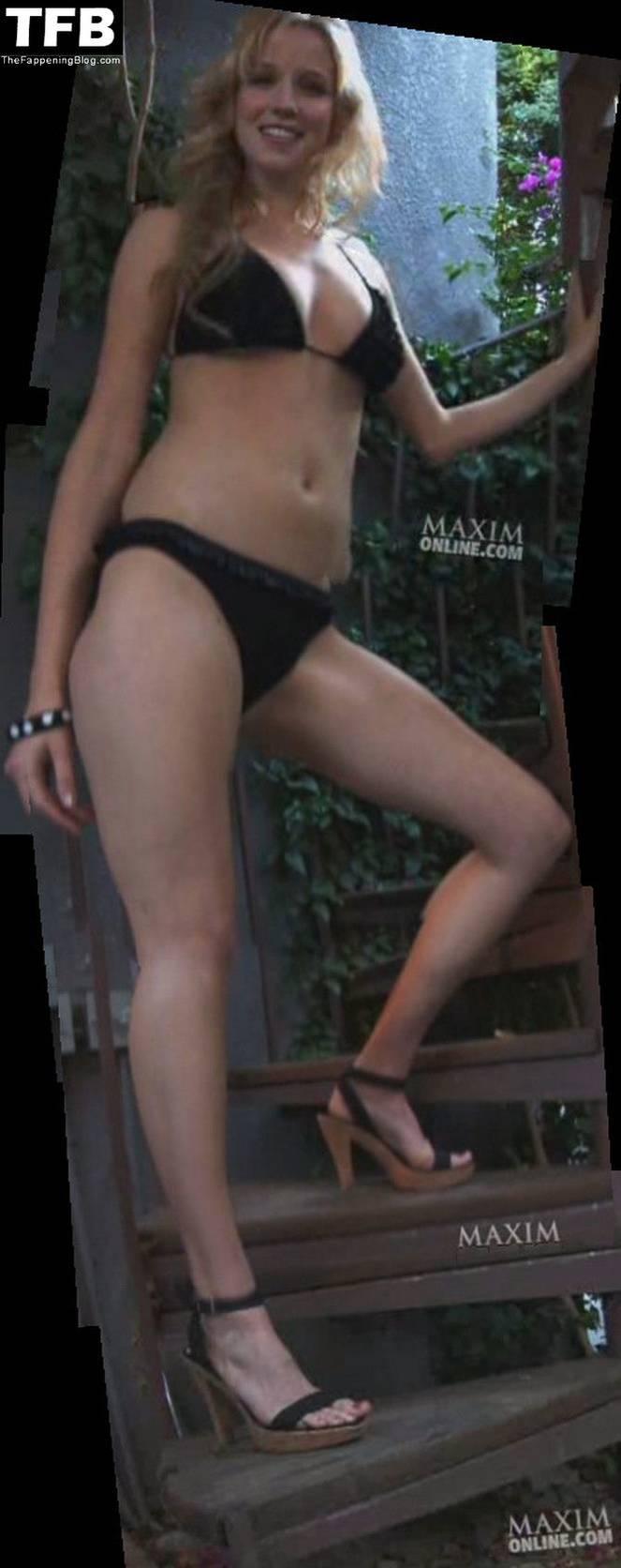 Jessy Schram Sexy Topless 9
