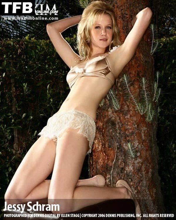 Jessy Schram Sexy Topless 13