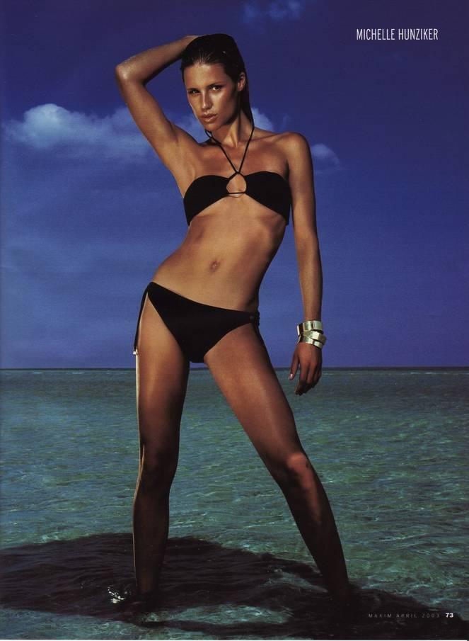 Michelle Hunziker Nude Sexy Topless 65