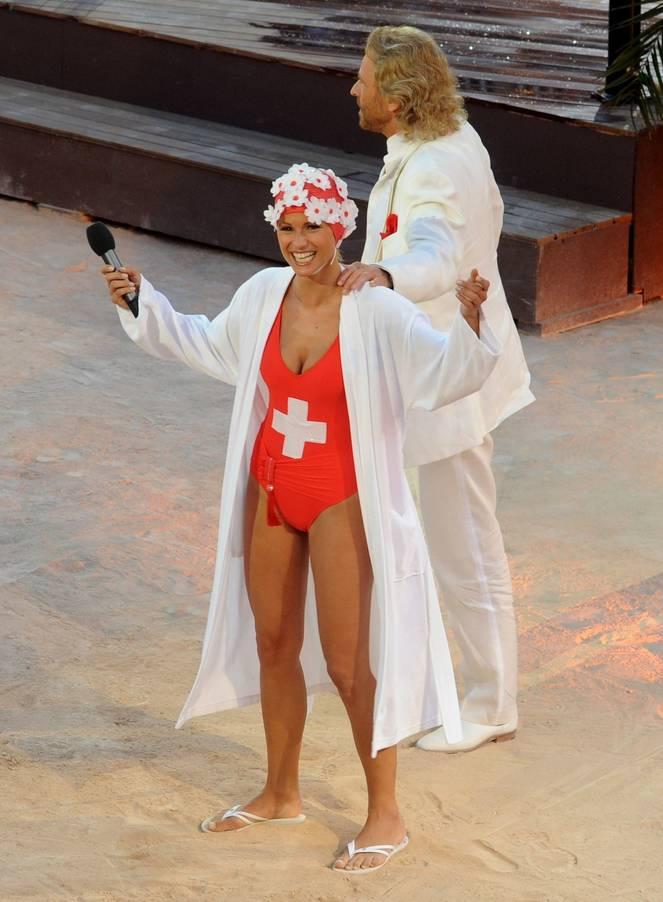 Michelle Hunziker Nude Sexy Topless 83