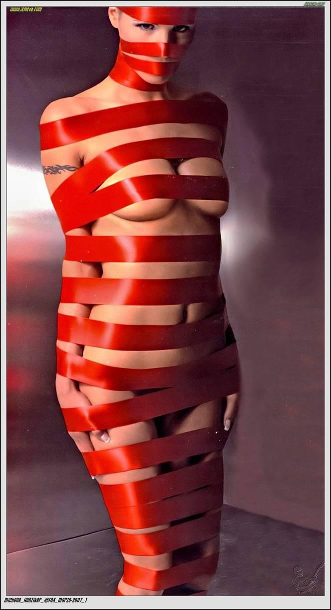 Michelle Hunziker Nude Sexy Topless 151